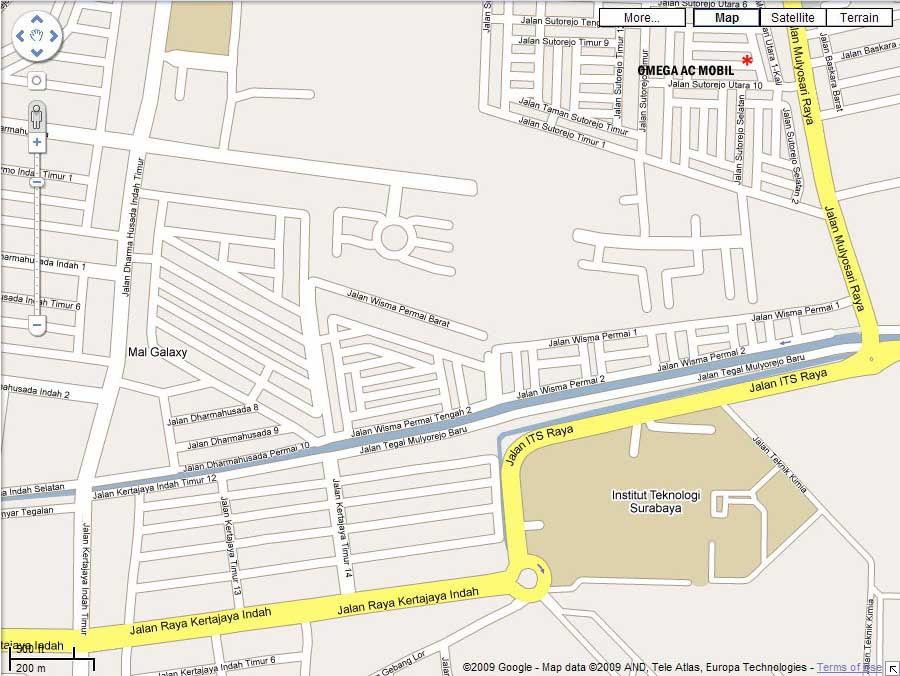 google map omega 4a LOKASI